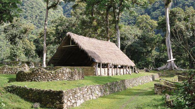 Sitio arqueológico de Espíritu Pampa , Vilcabamba, en la selva alta de Cusco (Foto: Ceques Editores)