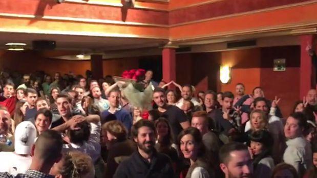 "Facebook: ""Mannequin Challenge"" dentro de un teatro [VIDEO]"