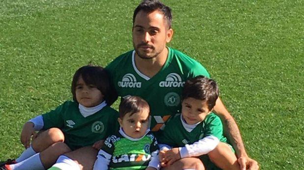Jugador argentino del Chapecoense salvó de tragedia por lesión