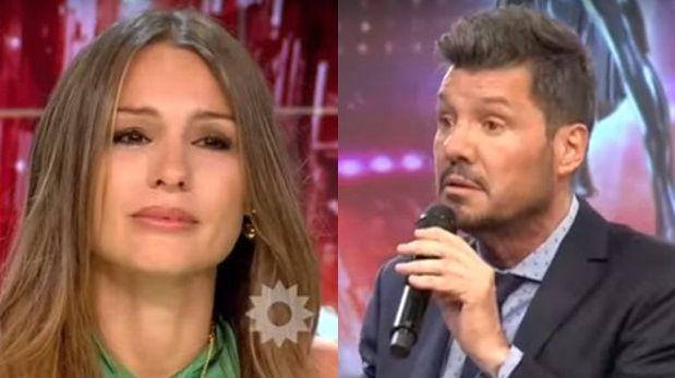 Pampita encaró llorando y en vivo a Marcelo Tinelli [VIDEO]