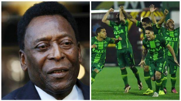 Chapecoense: Pelé escribió conmovedor tuit sobre tragedia aérea