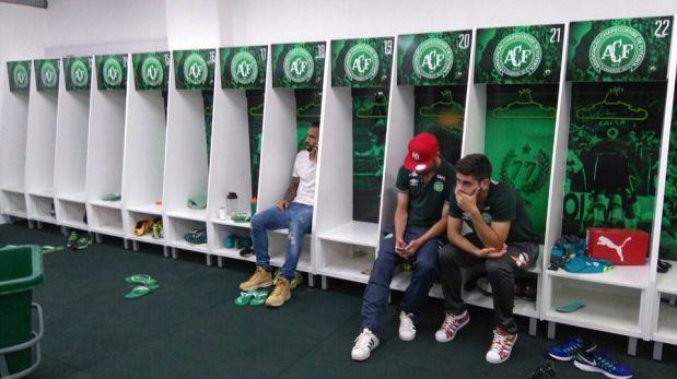 El pesar de los ocho jugadores de Chapecoense que no viajaron