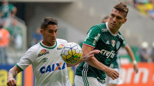 Palmeiras pide jugar Brasileirao con camiseta de Chapecoense