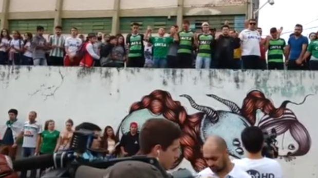 YouTube: así es como se despiden los hinchas del Chapecoense