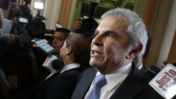 Caso OAS: fiscalía tendrá 120 días para investigar a Castañeda