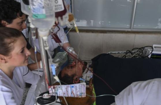 Jugador Ruschel de Chapecoense podría quedar parapléjico