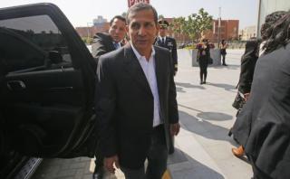 Ollanta Humala: PJ revisa hoy su comparecencia restringida