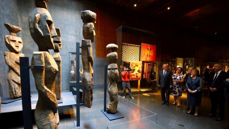 PPK visitó el Museo Chileno de Arte Precolombino [FOTOS]