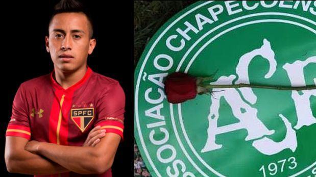 Facebook: Christian Cueva dedicó emotivo post a Chapecoense