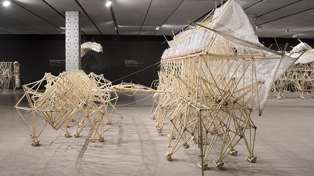 Las criaturas fantásticas de Theo Jansen se expondrán en Lima. (Foto: Difusión/ Fundación Telefónica)