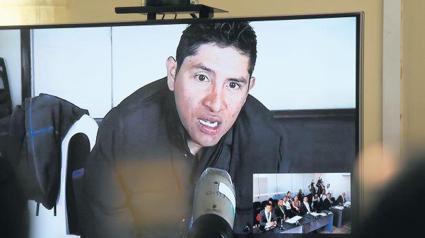 Juez Richard Concepción decidirá si Gerald Oropeza sigue preso