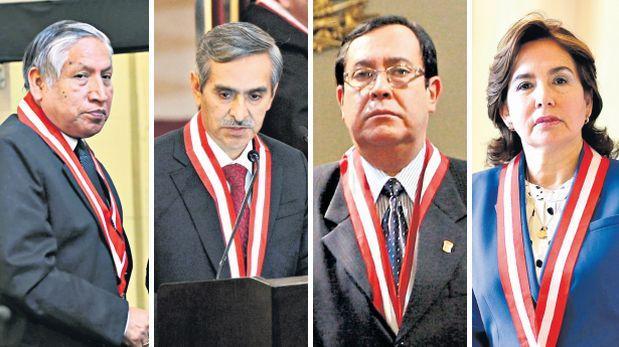 Cuatro candidatos buscan la presidencia del Poder Judicial