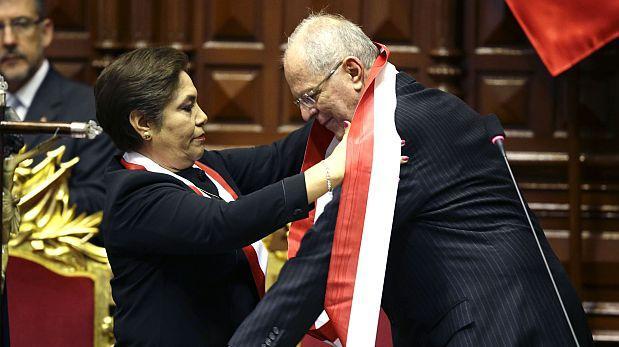 Luz Salgado cuestionó a PPK por críticas a Congreso desde Chile
