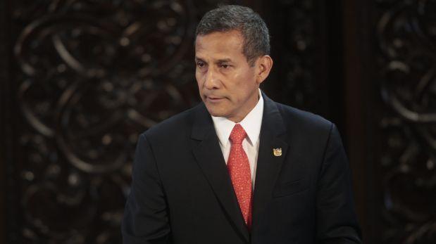 PJ resolverá en próximos días apelación de Ollanta Humala