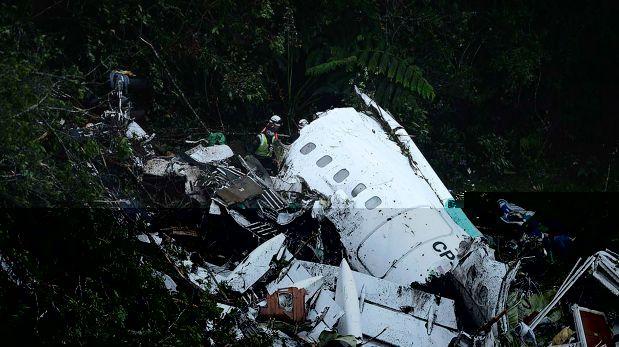Hallaron las dos cajas negras del avión siniestrado — Chapecoense