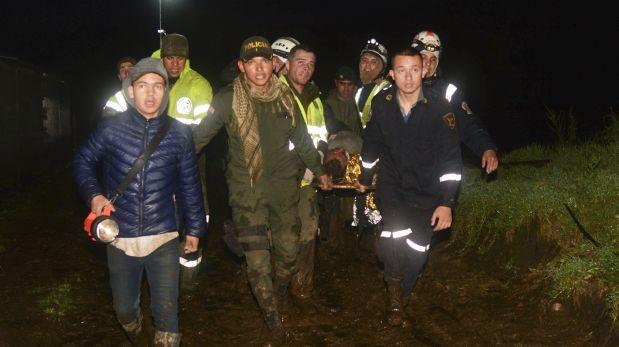 Los héroes que rescataron a los sobrevivientes del Chapecoense