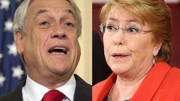"""Piñera: Bachelet conduce a Chile por un """"camino equivocado"""""""