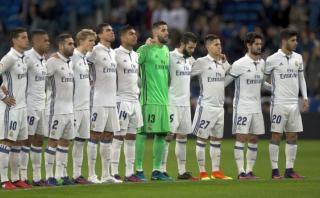 Real Madrid y el emotivo minuto de silencio por Chapecoense