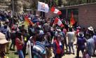 Apurímac: turba impidió que comitiva de Gobierno abandone local