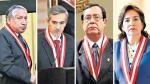 Cuatro candidatos buscan la presidencia del Poder Judicial - Noticias de victor rodriguez