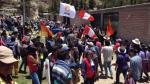 Apurímac: turba impidió que comitiva de Gobierno abandone local - Noticias de richard palomino