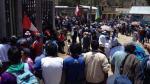 Apurímac: turba impidió que comitiva de Gobierno abandone local - Noticias de manuel alarcon