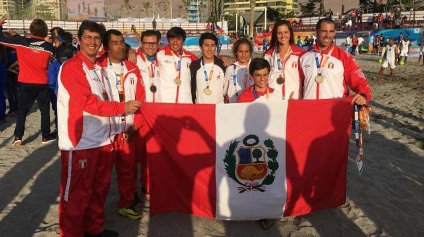 Perú ganó hoy tres medallas de oro en Bolivarianos de Playa