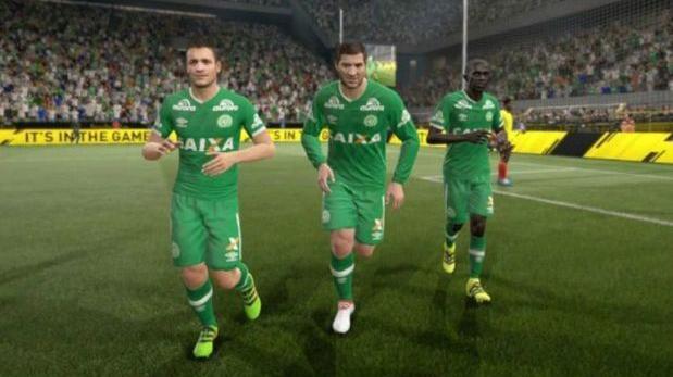 Chapecoense: FIFA 17 honró así memoria de los jugadores