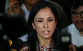 Nadine Heredia regresa hoy al Perú procedente de Madrid