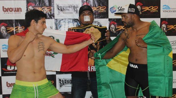 """MMA en Perú: Jaime Córdoba vs. Abias """"Pitbull"""" en """"300 Sparta"""""""