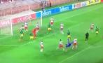 Guardameta marcó golazo de chalaca en el último minuto [VIDEO]