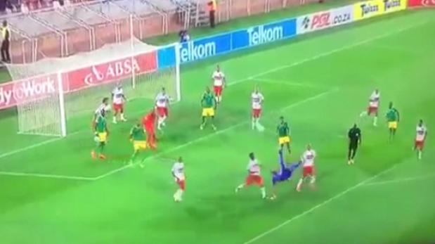 Portero anotó golazo de chalaca en el último minuto [VIDEO]