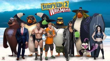 """Estrellas de la WWE tendrán versiones animadas en """"Surf's Up"""""""