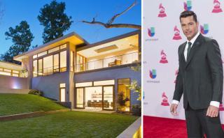 Conoce la casa que Ricky Martin compró en Los Ángeles