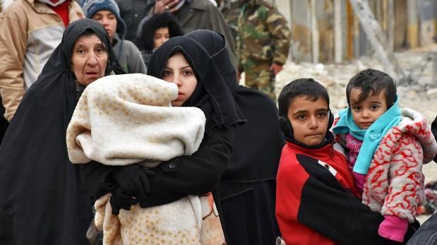 Rusia propone 4 corredores humanitarios para el este de Alepo