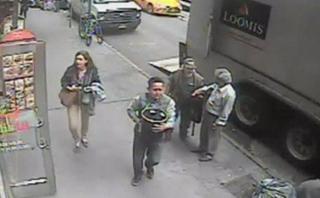 Hombre se robó un balde repleto de oro en Manhattan [VIDEO]