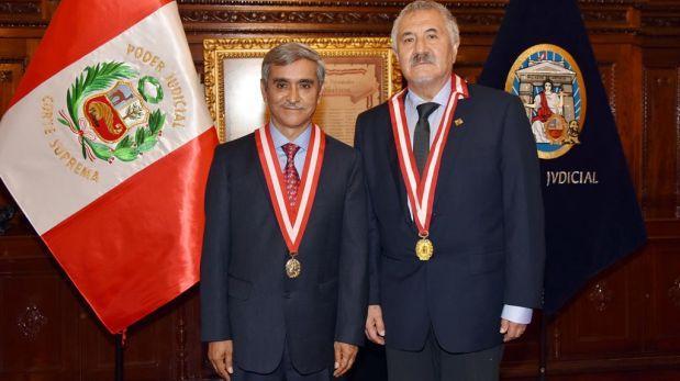 Duberlí Rodríguez fue elegido presidente del Poder Judicial