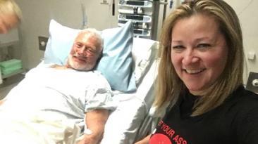 El ex astronauta Buzz Aldrin se recupera en Nueva Zelanda