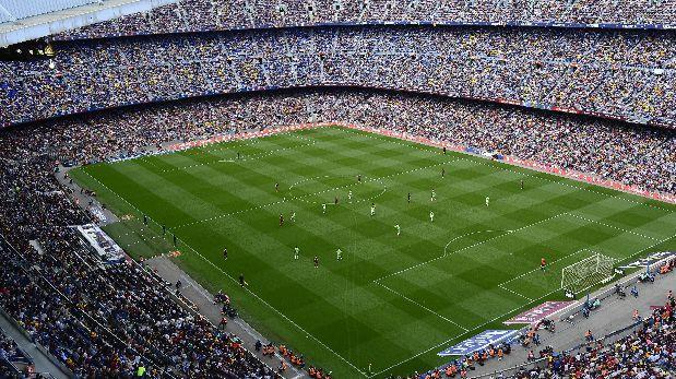 El Camp Nou de Barcelona estrena sistema de repetición 360°