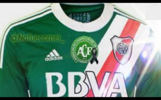 Chapecoense: River Plate rendirá homenaje con camiseta verde