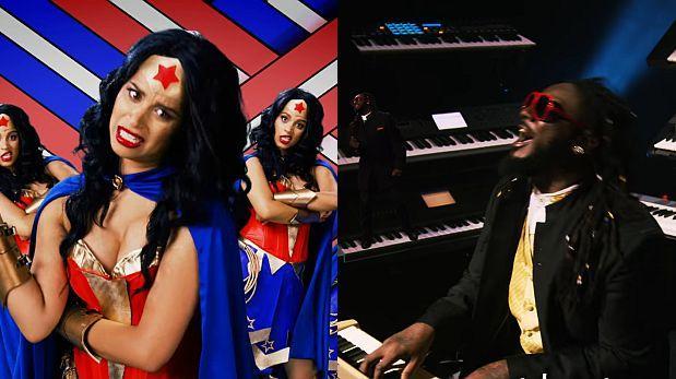 'Mujer Maravilla' y Stevie Wonder en despiadada guerra de rap