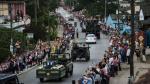 Miles de cubanos inundan las carreteras para despedir a Fidel - Noticias de ernesto guevara