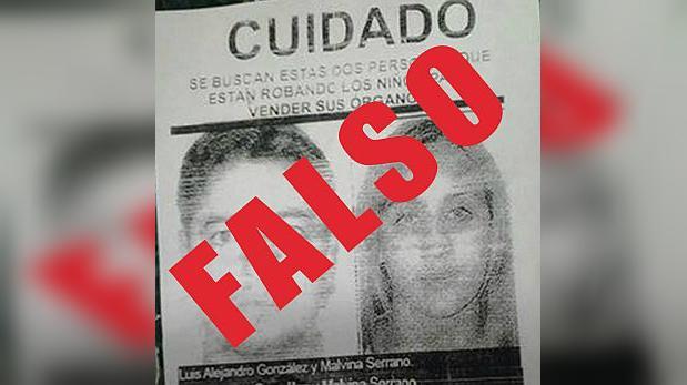 Policía negó la existencia de traficantes de órganos en Huaycán