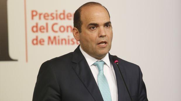 Ministro de Defensa jurará el fin de semana, informa Zavala