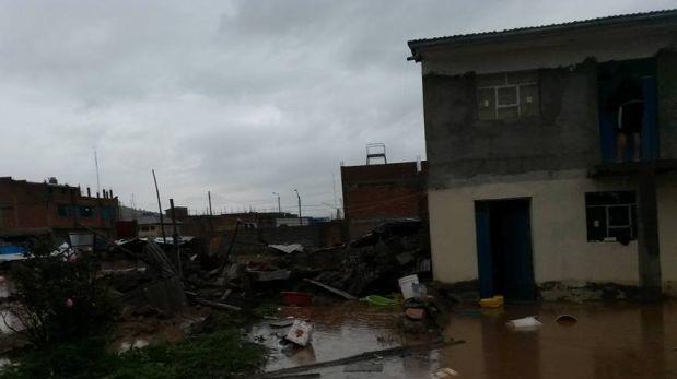 Puno: reportan más de 80 casas dañadas por sismo en Lampa