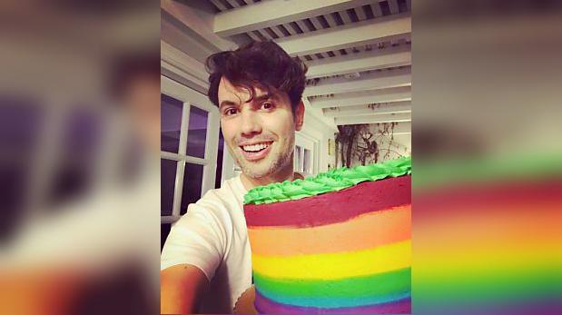 """Bruno Pinasco en Instagram: """"Soy una persona feliz y plena"""""""