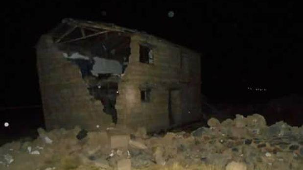 Niña de 5 años murió aplastada por pared tras sismo en Puno