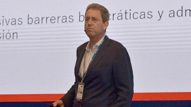 El ministro de Economía y Finanzas, Alfredo Thorne , participó en CADE Ejecutivos. (Foto. IPAE)