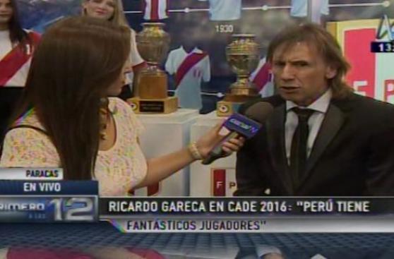 Ricardo Gareca en CADE: ¿Qué dijo el entrenador de Perú?