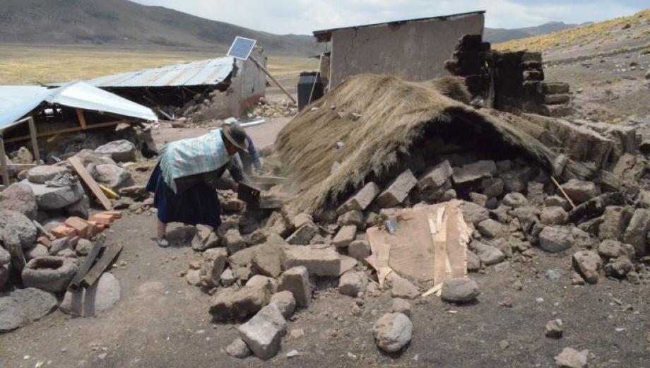 Puno: los terribles daños que dejó sismo de 6 grados